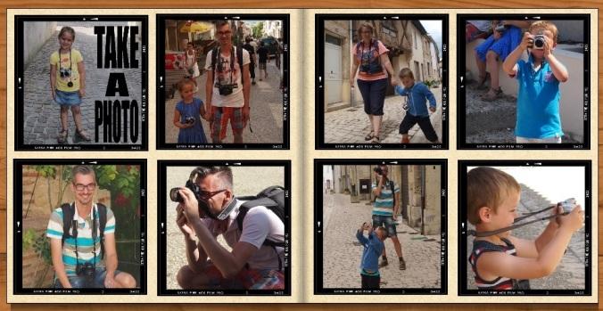 Take a photo: vakantiefoto's door het hele gezin