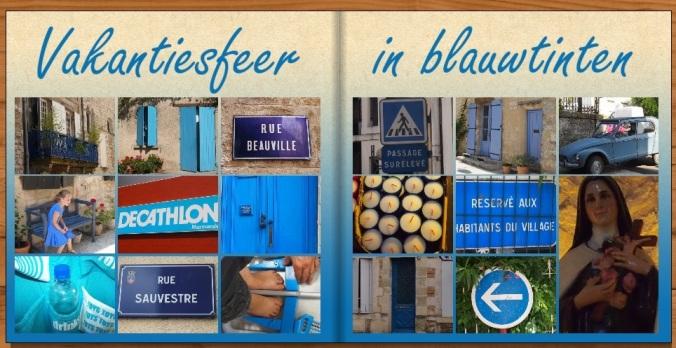 Vakantiesfeer in blauwtinten