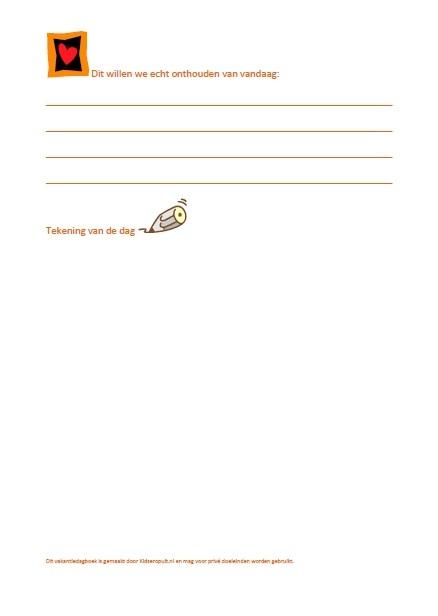 vakantiedagboek KidsErOpUit 2